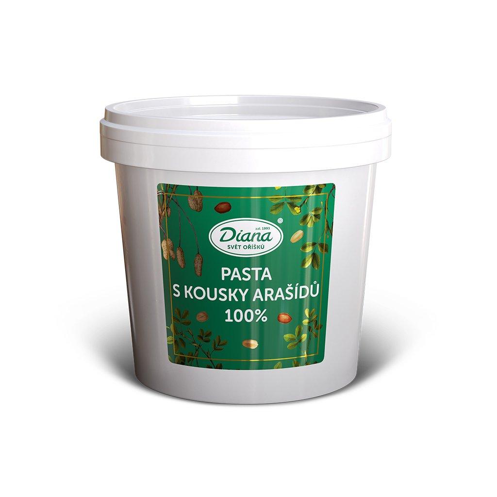 Pasta s kousky arašídů 100% 1kg