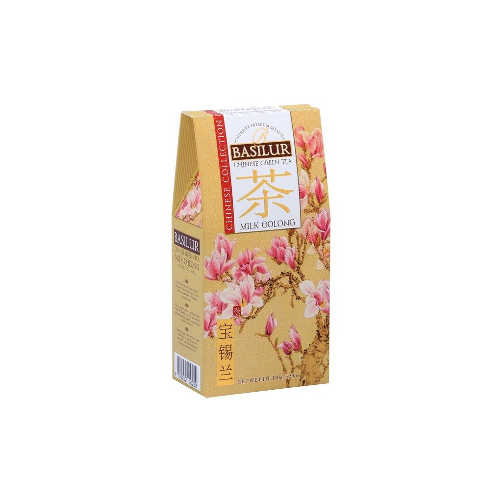 BASILUR Chinese Milk Oolong papír 100g