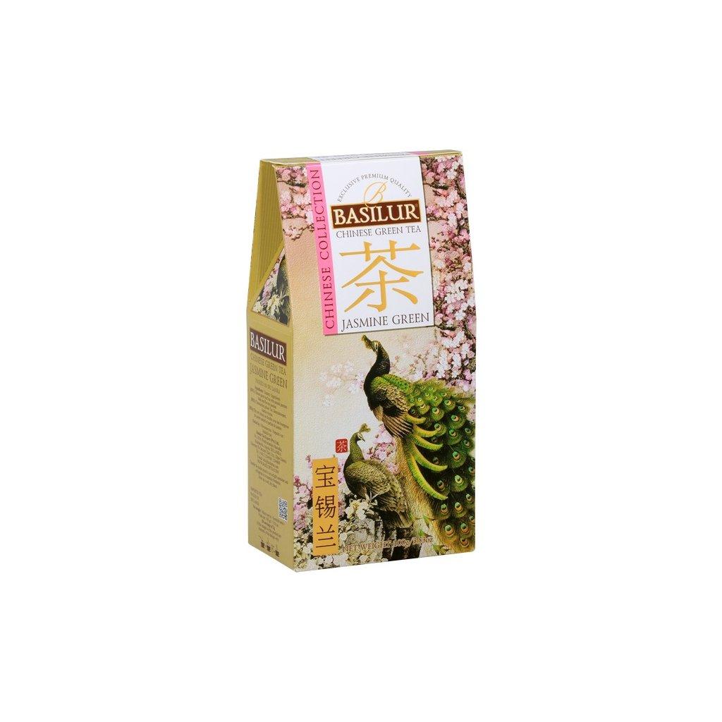 Basilur chinese jasmine green papír