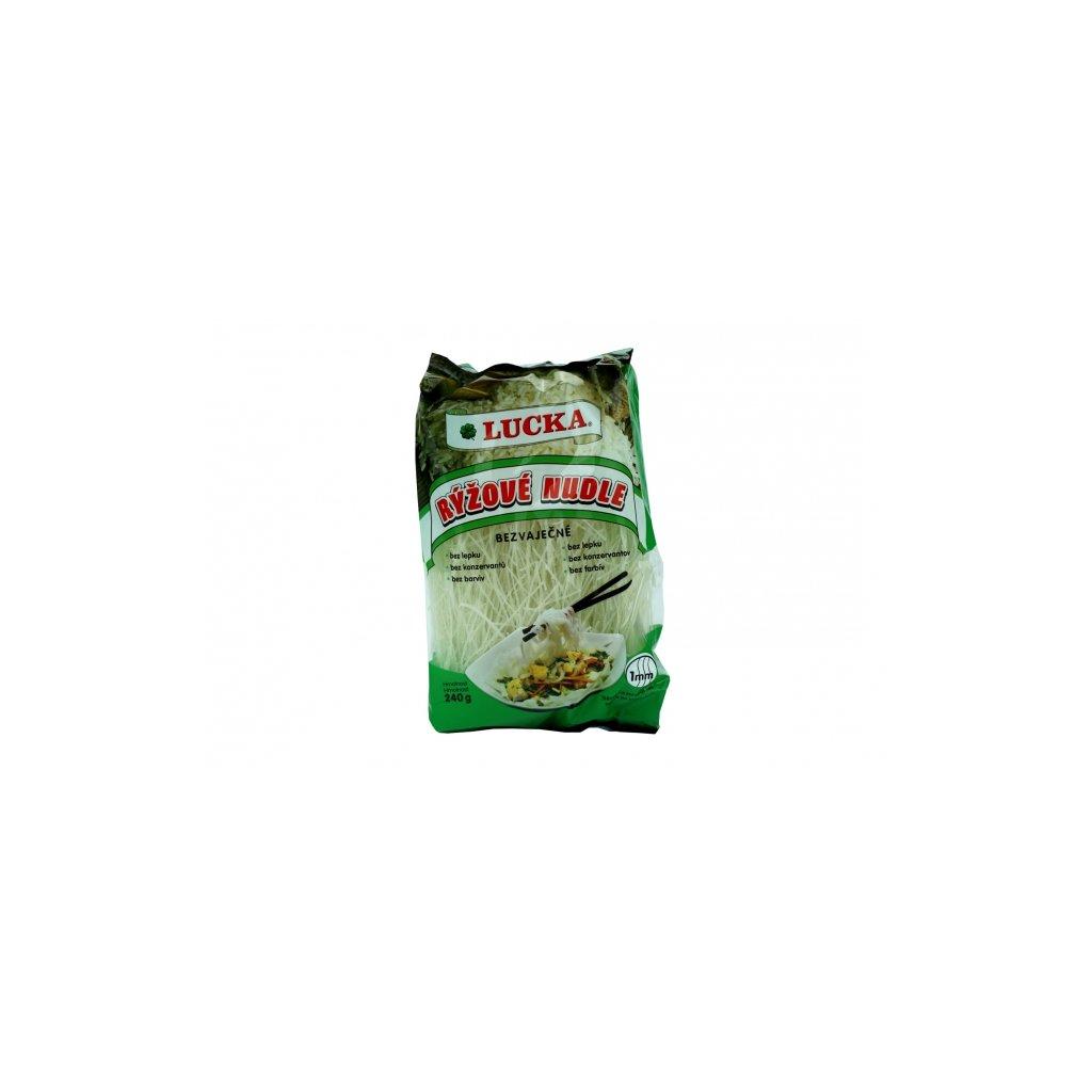 Lucka rýžové nudle bezvaječné 1mm 240g