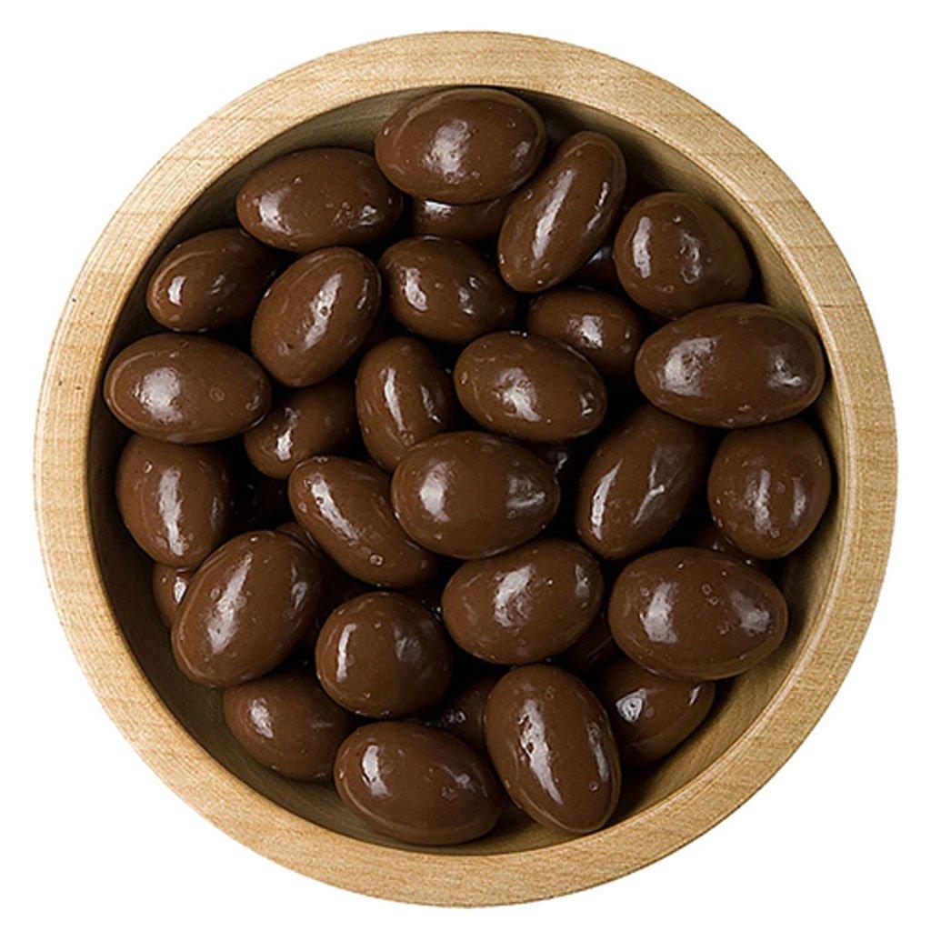 Mandle v čokoládové polevě bonnerex 100g