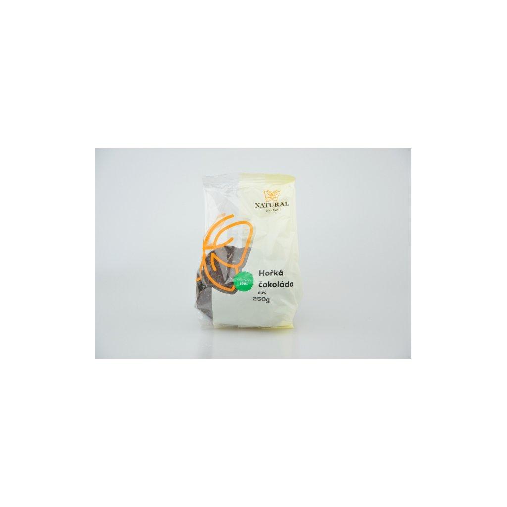 Natural čokoláda hořká 60% 250g