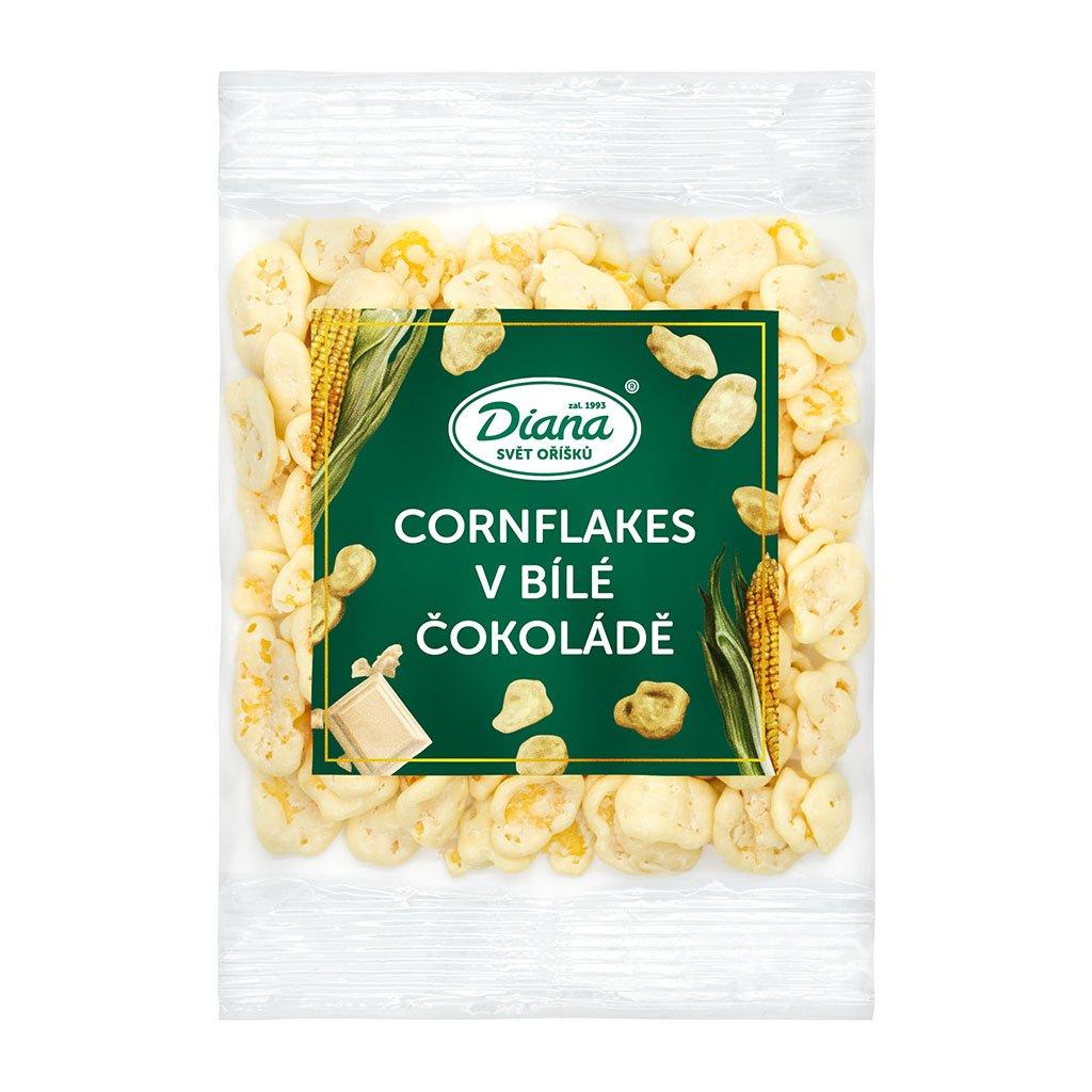 cornflakes v bílé čokoládě 100g diana company