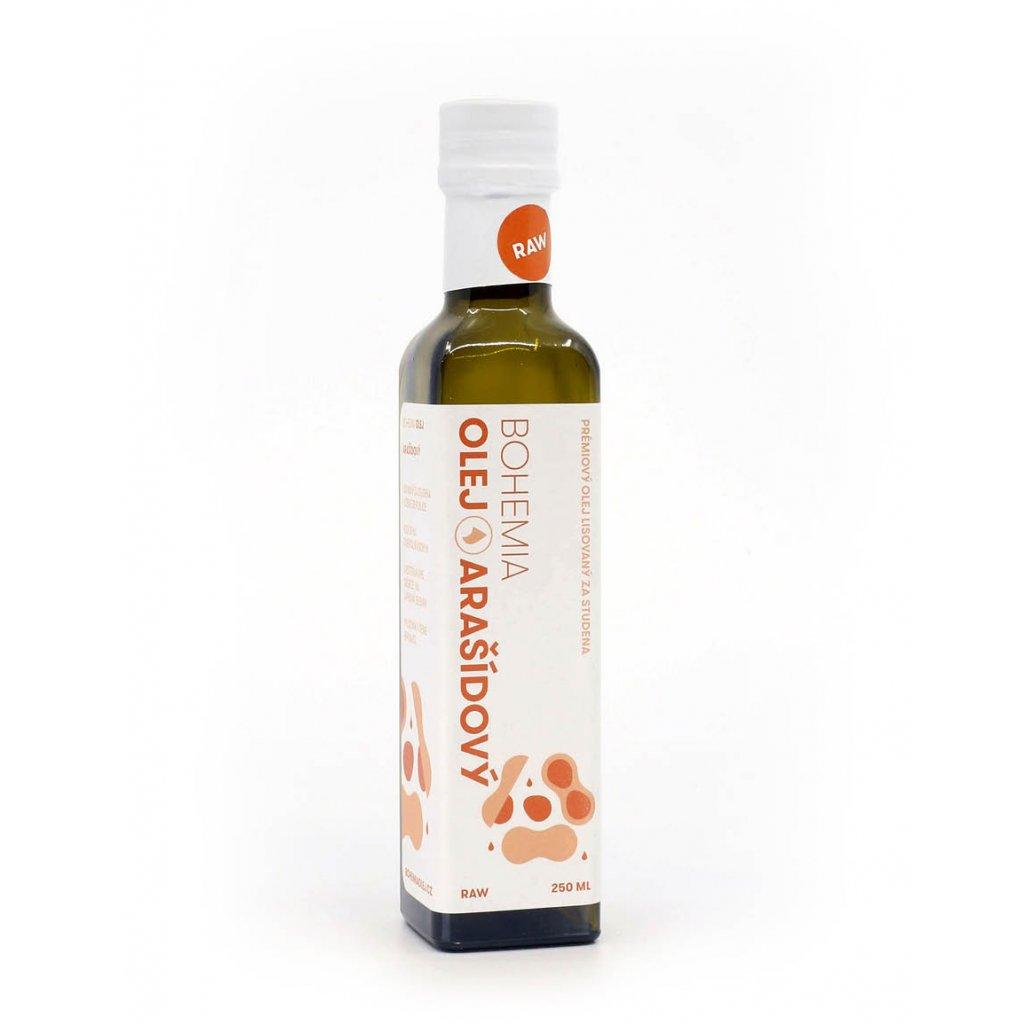 BOHEMIA OLEJ Arašídový olej RAW 250 ml