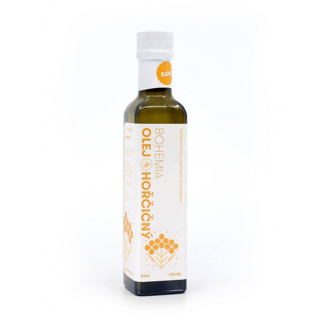 BOHEMIA OLEJ Hořčičný olej RAW 250 ml