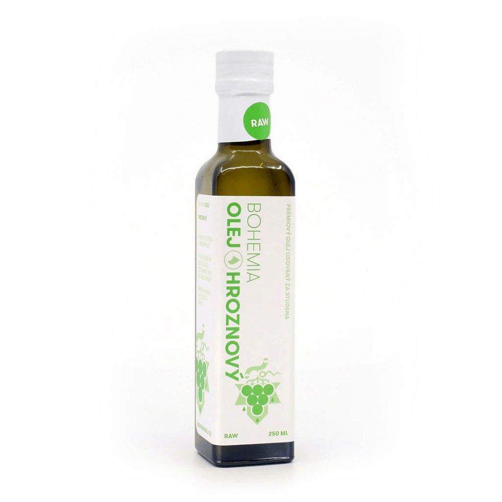 BOHEMIA OLEJ Hroznový olej RAW 250 ml