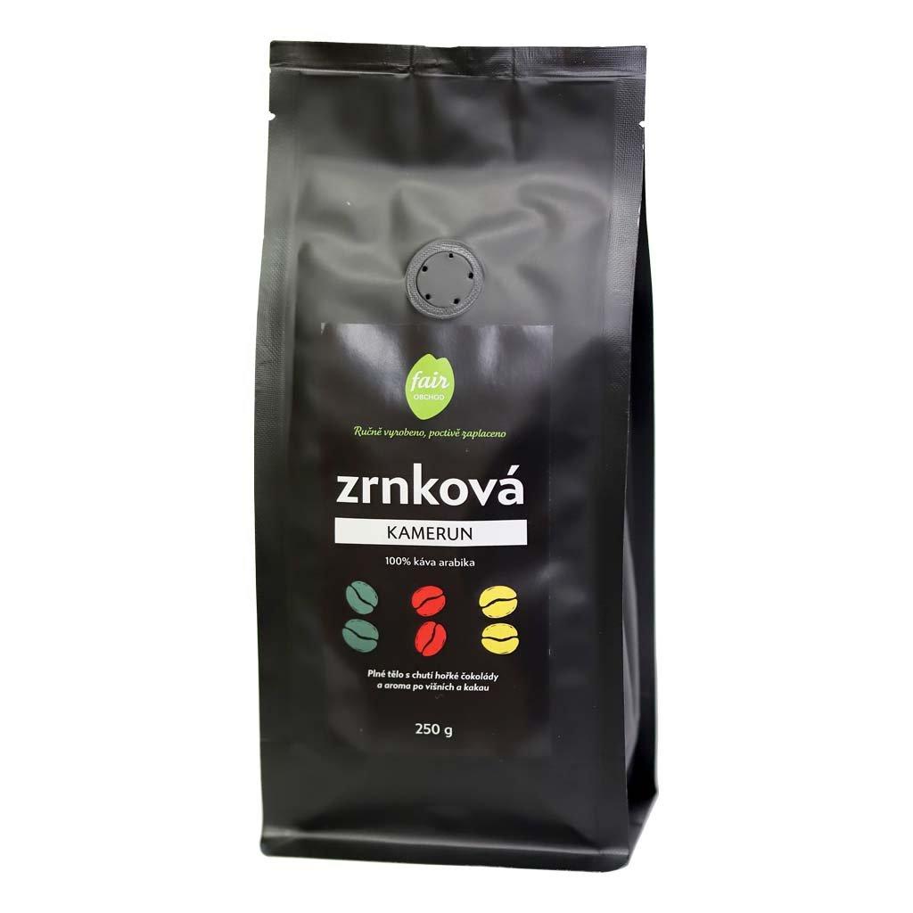 Fair Trade Centrum Zrnková káva Kamerun diana company 250g