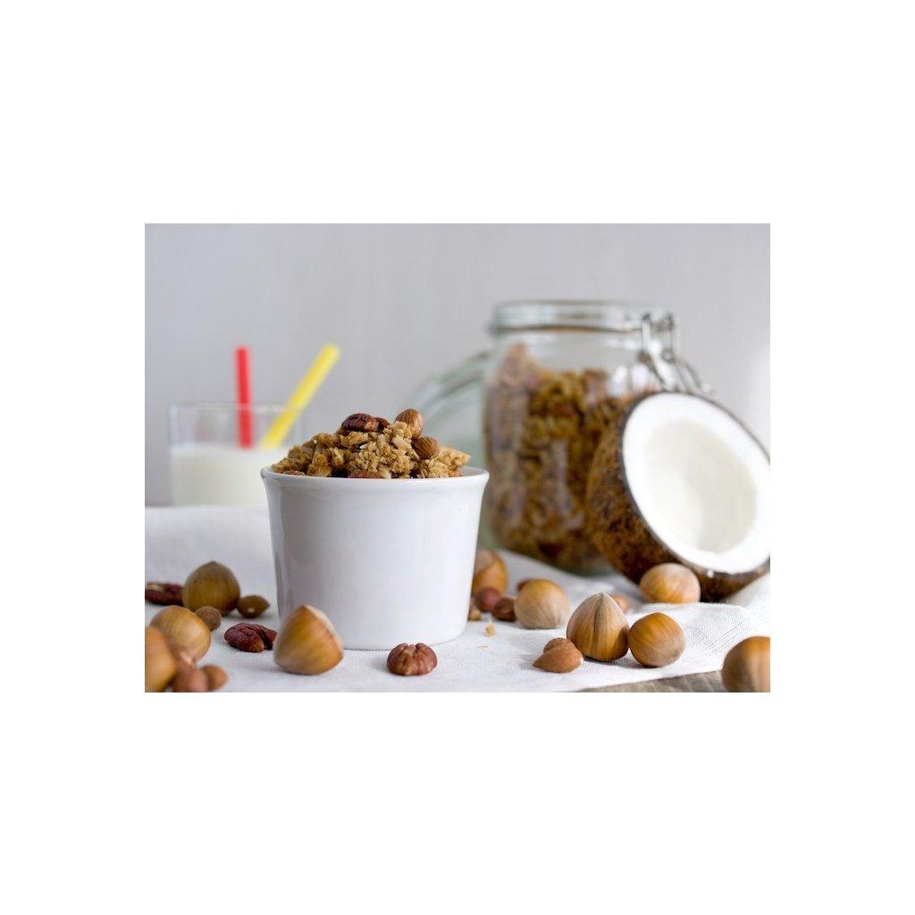 Bezva müsli spékané s ořechy 170g