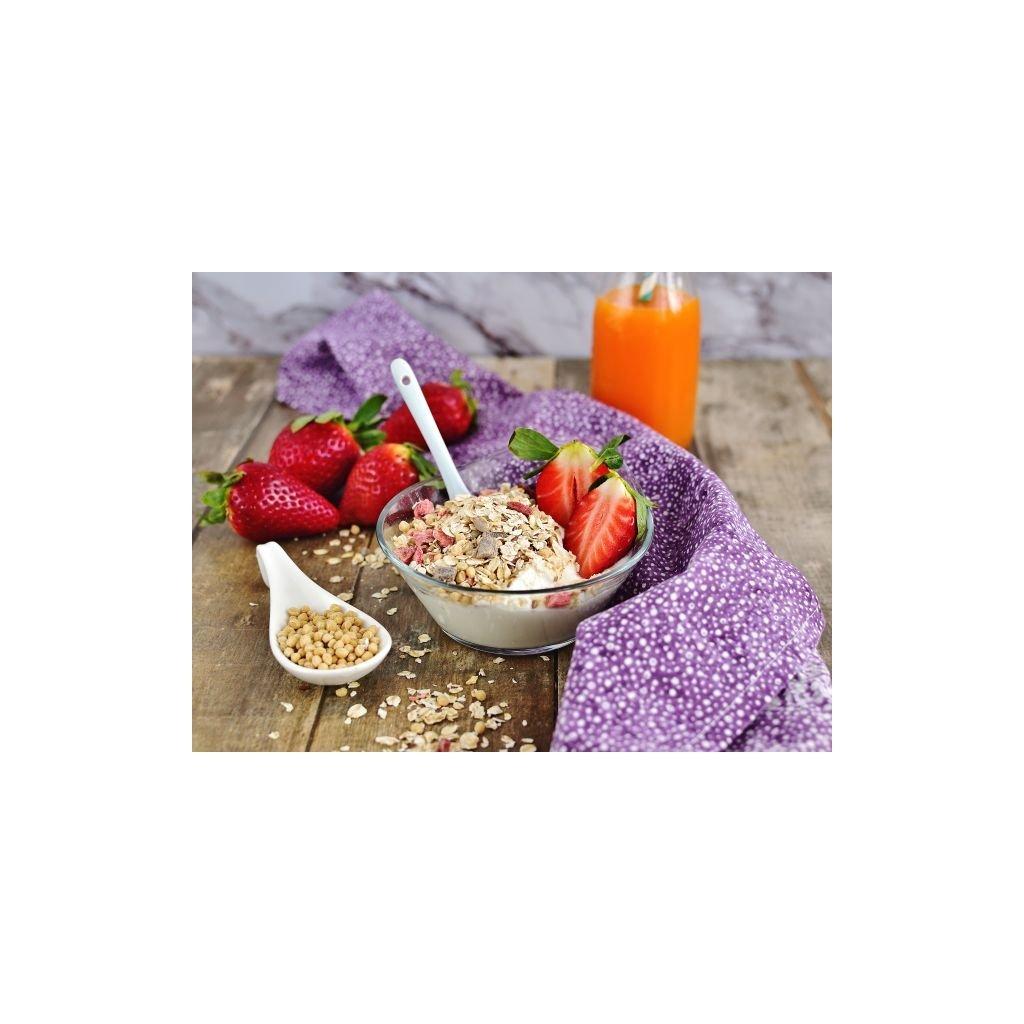 Bezva müsli sypané protein 25 % jahodové 450g diana company