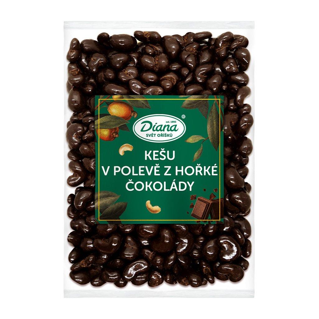 Kešu v polevě z hořké čokolády 500g