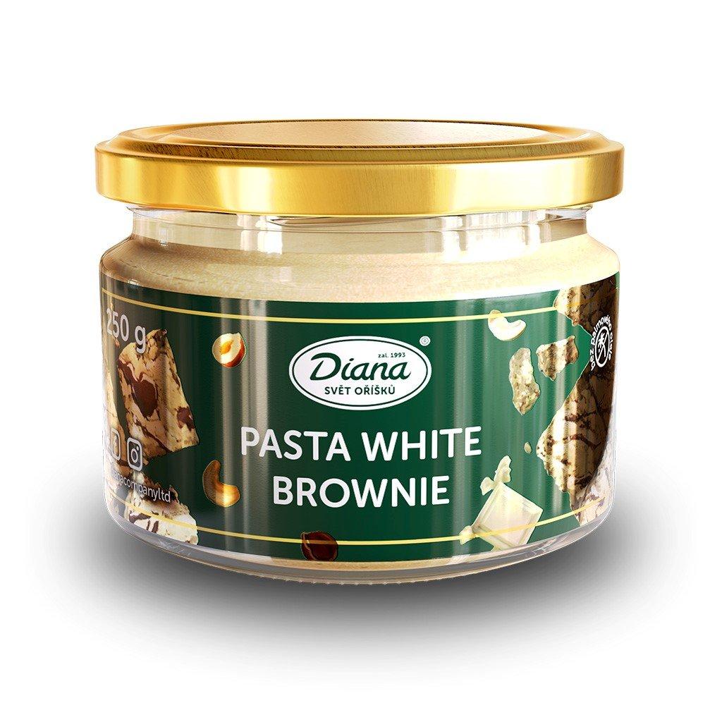 Pasta white brownie 250g diana company