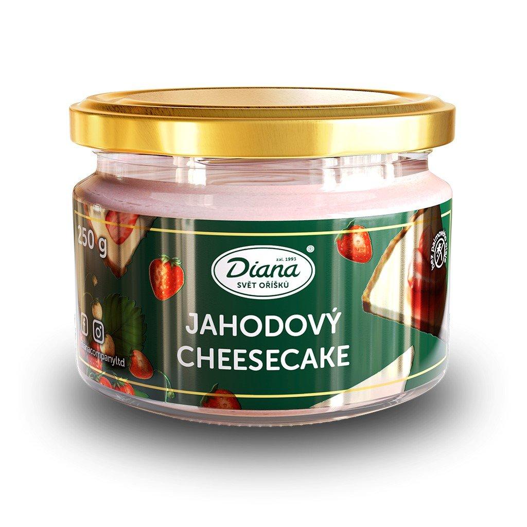 Pasta jahodový cheesecake 250g diana company
