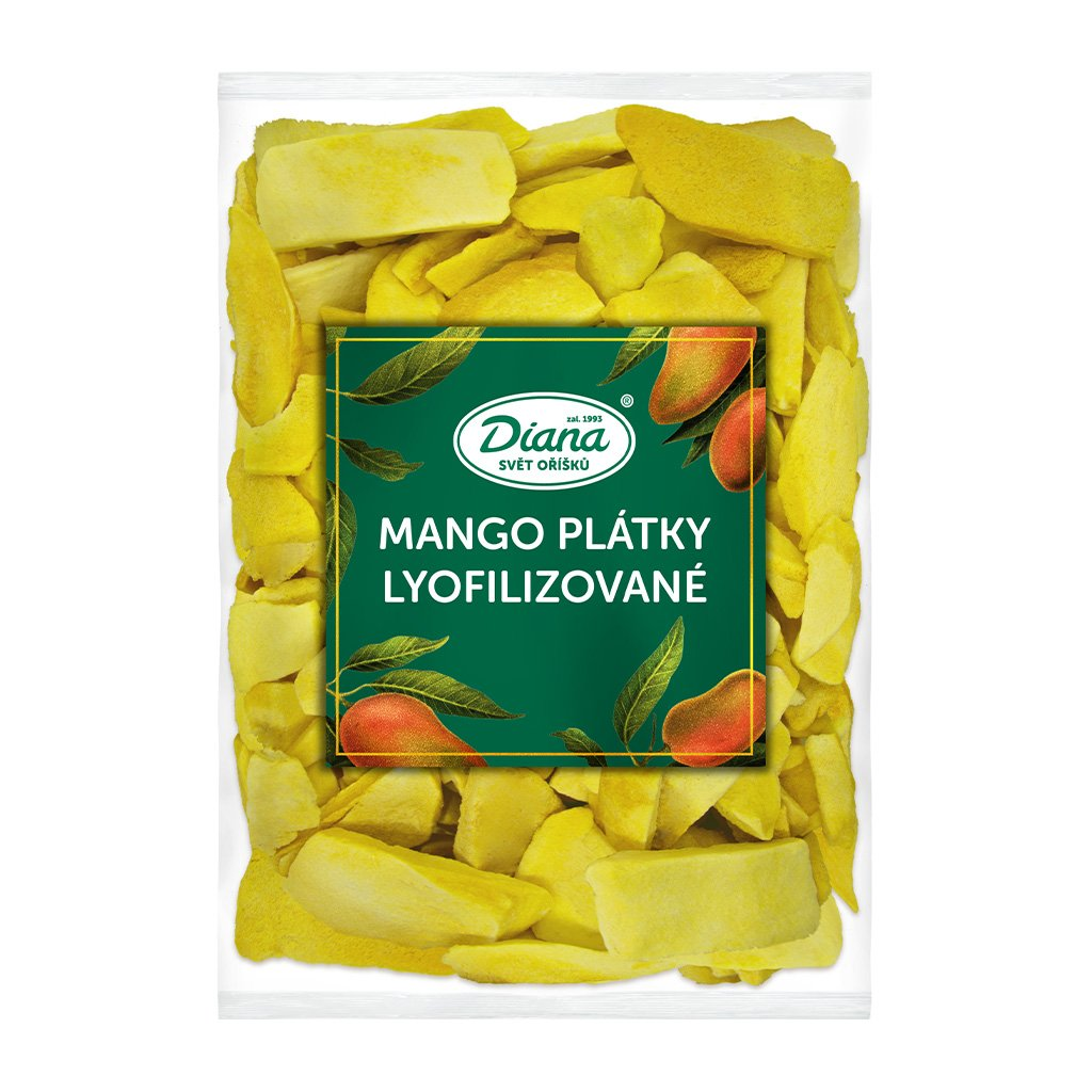 Mango plátky lyofilizované 500g