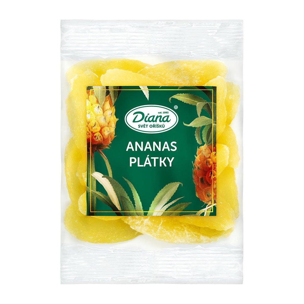 ananas plátky 100g diana company