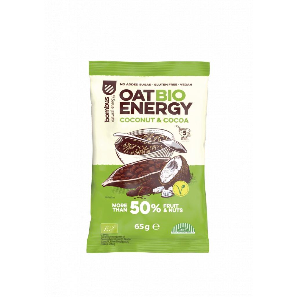 BOMBUS OAT BIO ENERGY Coconut&Cocoa 65g