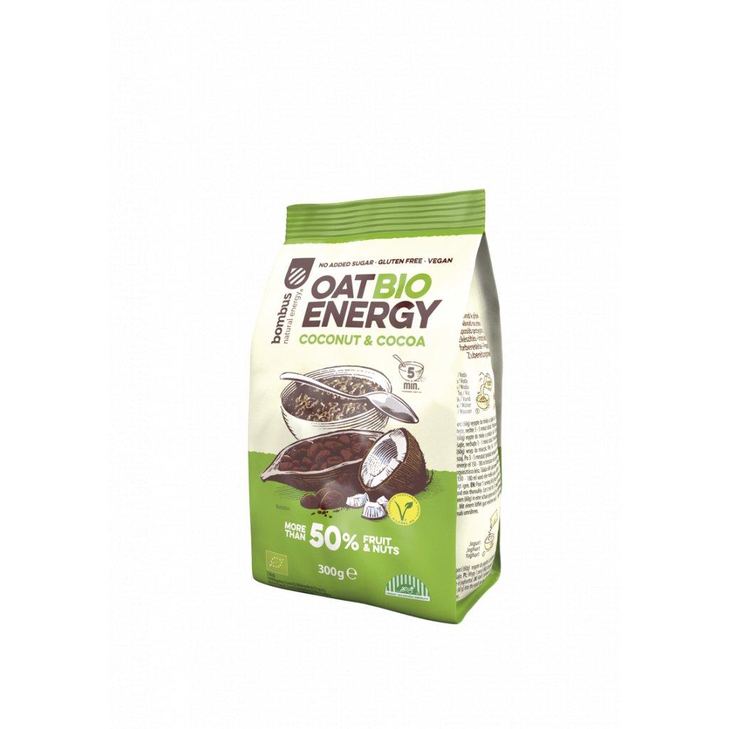 BOMBUS OAT BIO ENERGY Coconut&Cocoa 300g