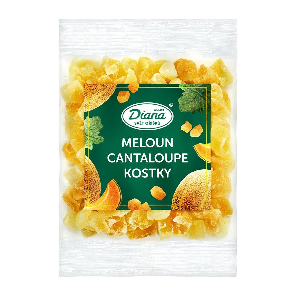 Meloun Cantaloupe kostky 100g
