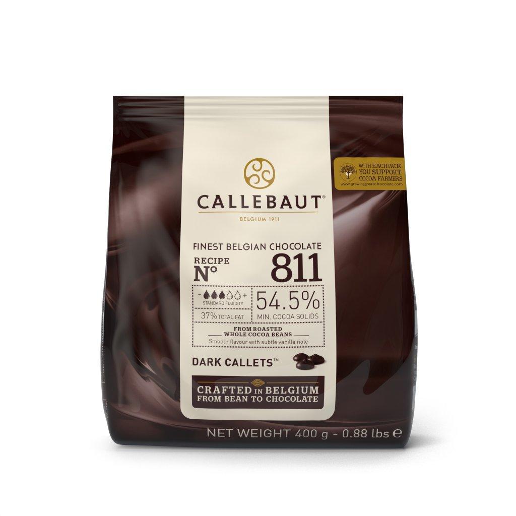 Barry Callebaut Čokoláda hořká 54,5% 400g