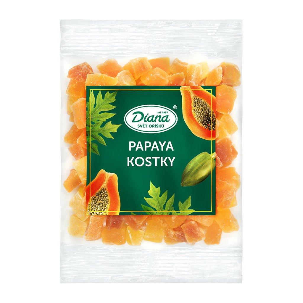 papaya kostky 100g diana company