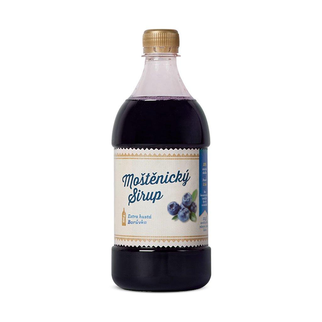 Moštěnický Sirup Borůvka 0,7l