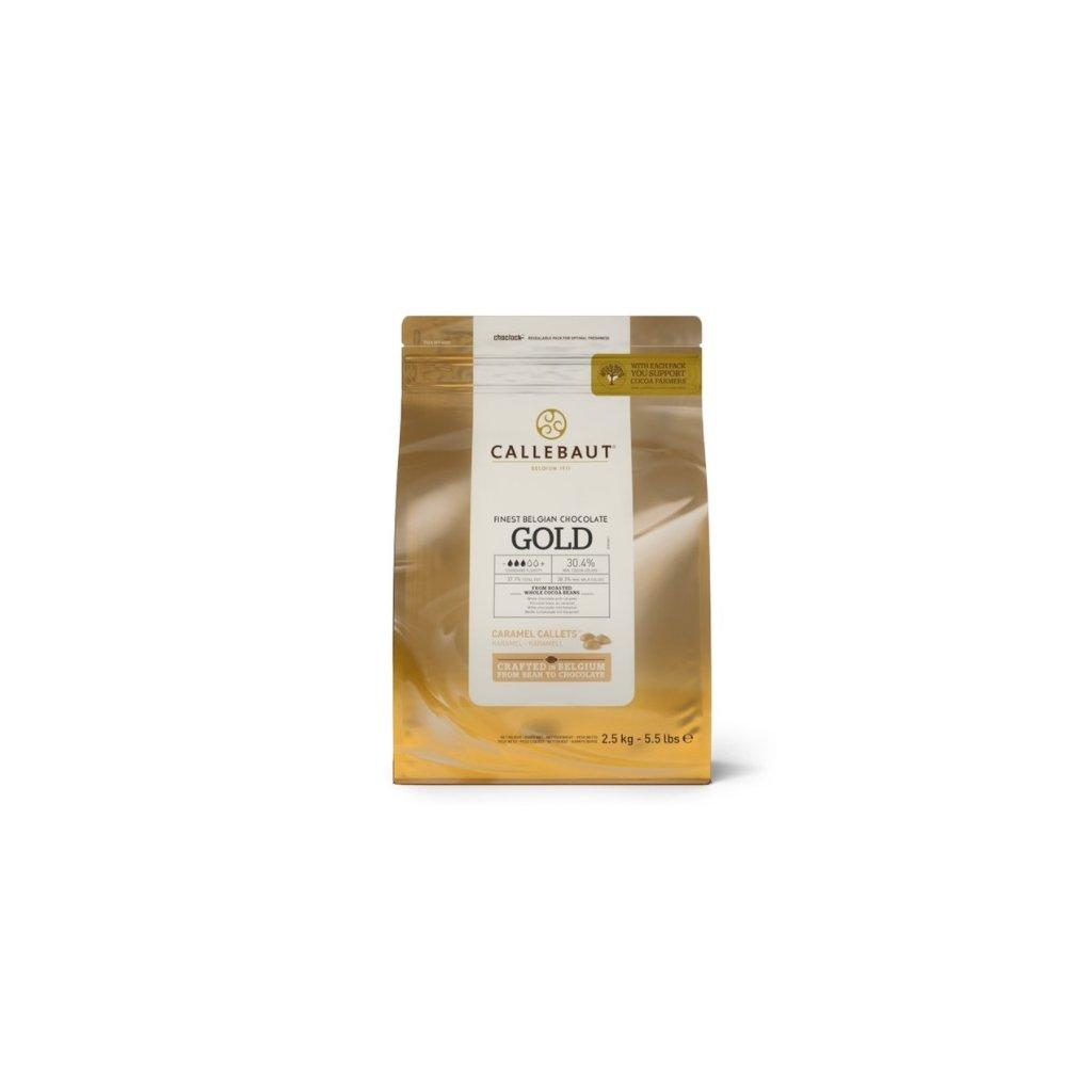 Barry Callebaut Čokoláda gold 2,5 kg