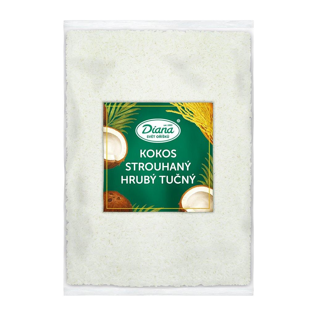 Kokos strouhaný hrubý tučný 1 kg diana company