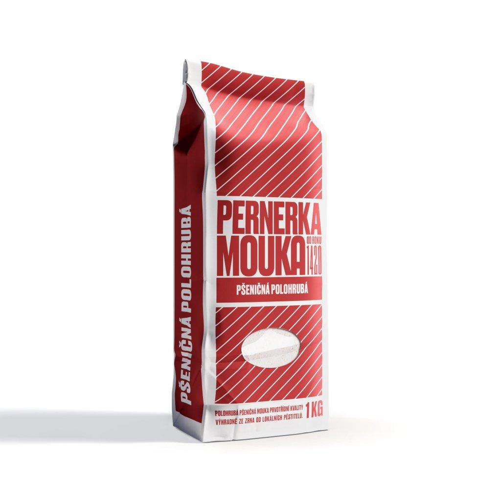 Pernerka Mouka pšeničná polohrubá 1kg
