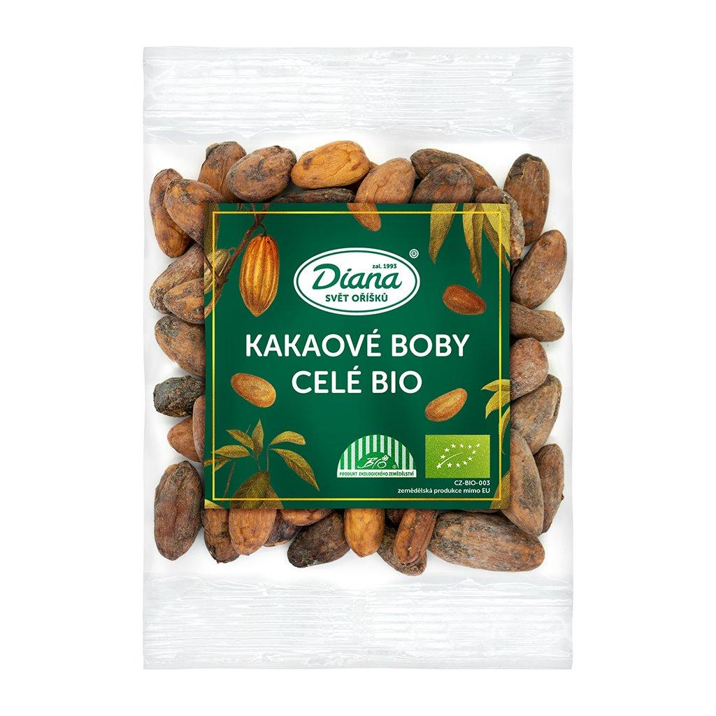 Kakaové boby celé BIO 100g