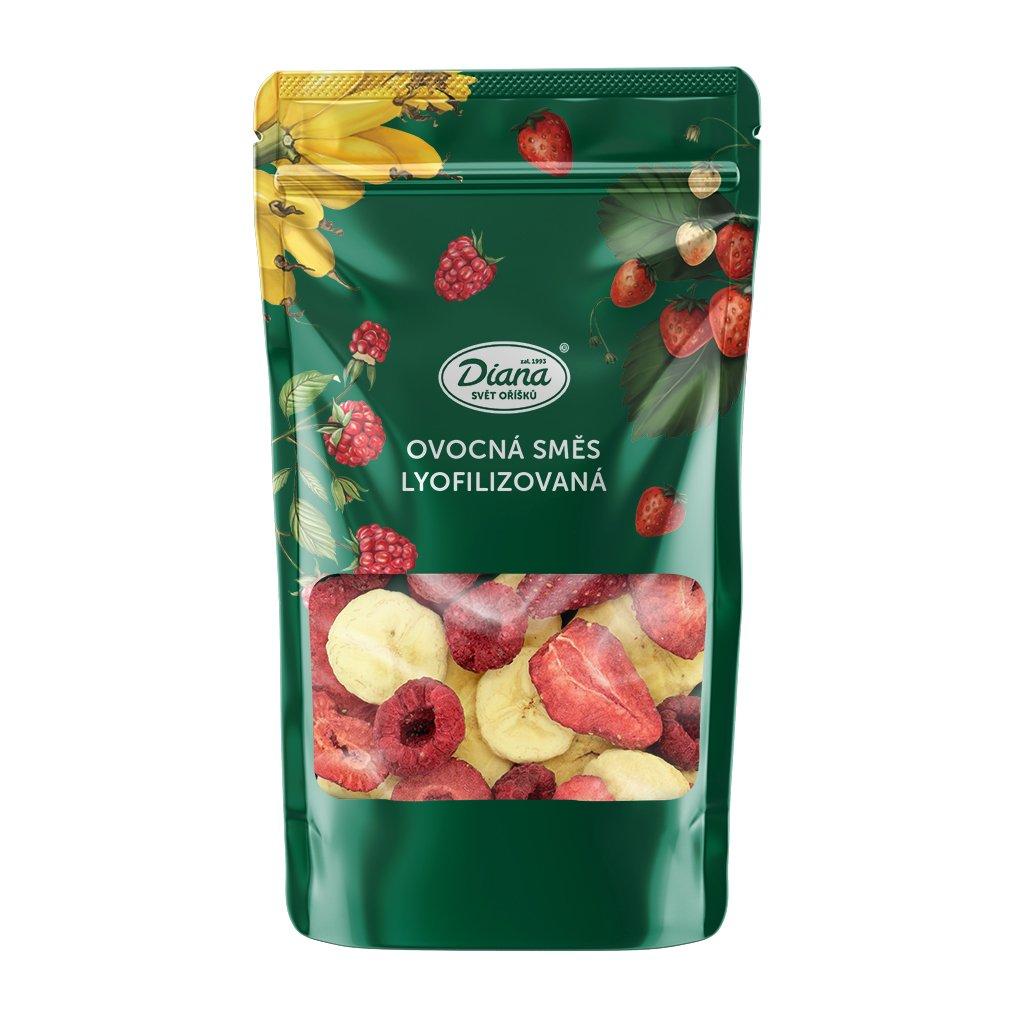 Ovocná směs lyofilizovaná