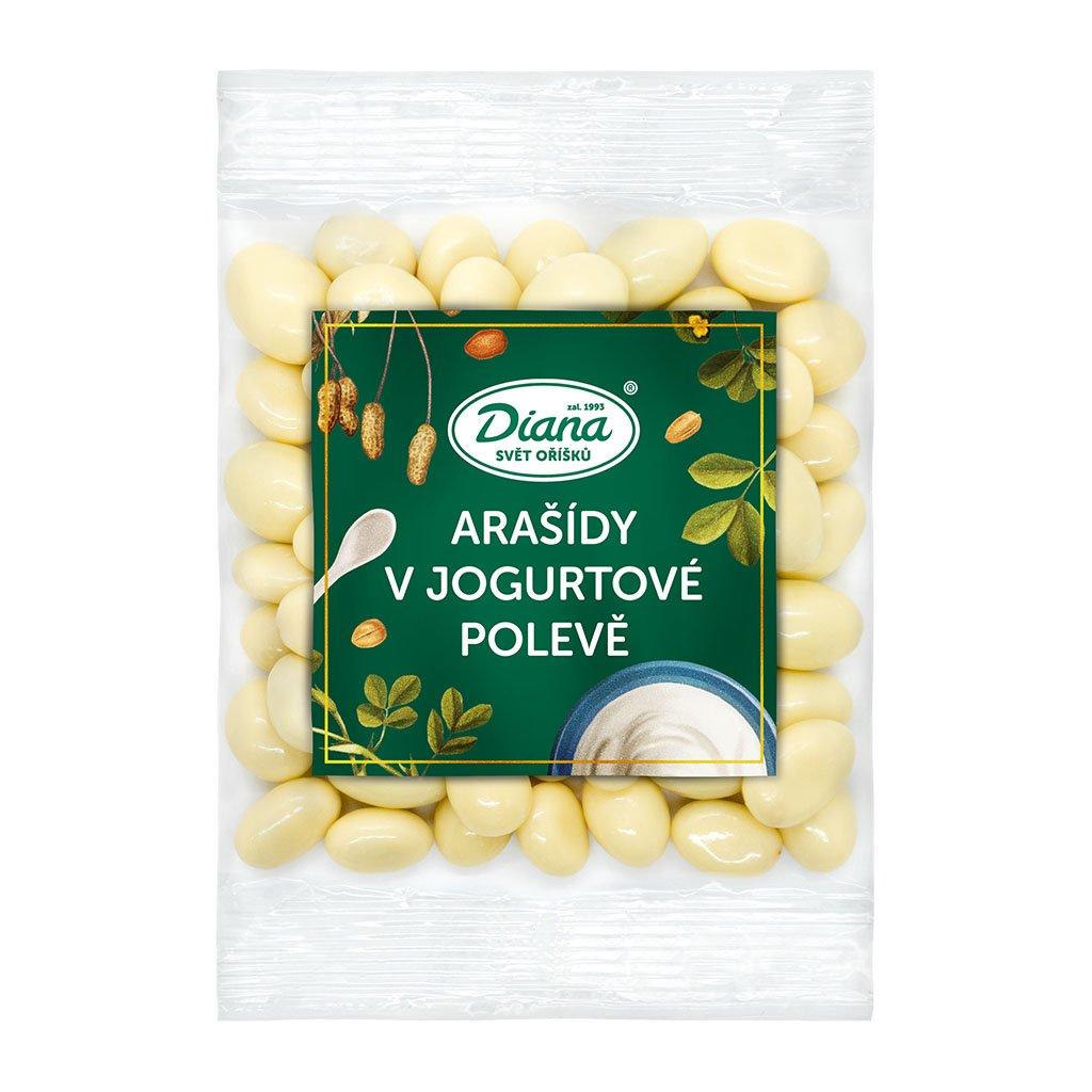 Arašídy v jogurtové polevě 100g