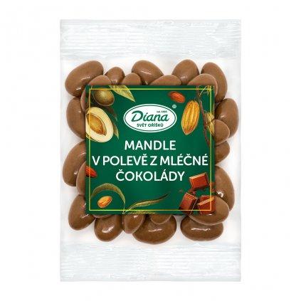 Mandle v polevě z mléčné čokolády 100g