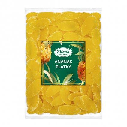 Ananas plátky 1kg