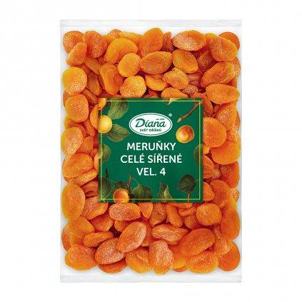 Meruňky celé sířené vel. 4 1kg