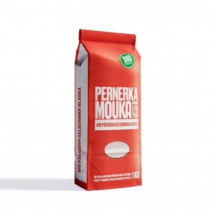Pernerka BIO Mouka pšeničná celozrnná hladká 1kg