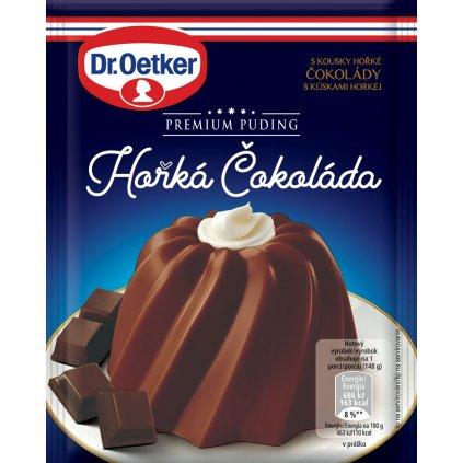 Dr Oetker Premium puding horka cokolada 52 g