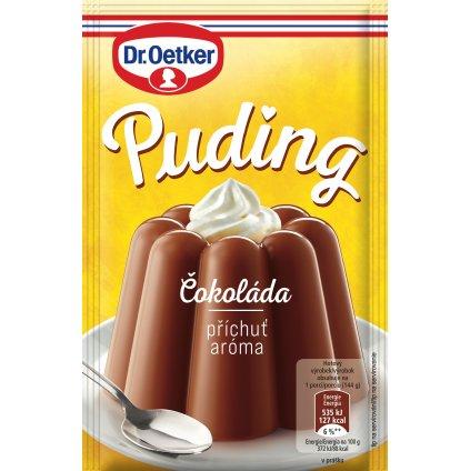 Dr. Oetker Puding s čokoládovou příchutí 46g