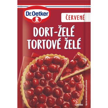 Dr. Oetker Dort- želé červené 10g