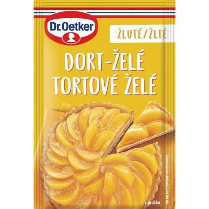 Dr. Oetker Dort - želé žluté 10g