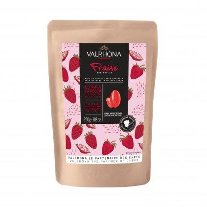 Valrhona Feves Cokolada Inspiration Strawberry 250 g