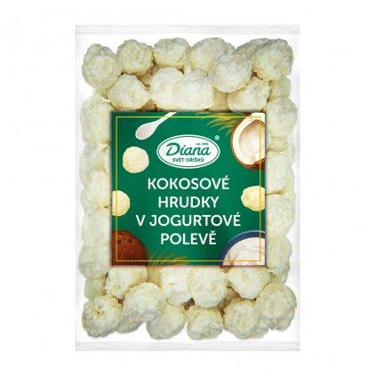 Kokosové hrudky v jogurtové polevě 500g