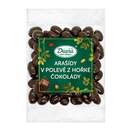 Arašídy v polevě z hořké čokolády 100g