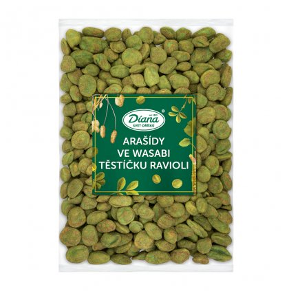 Arašídy ve wasabi těstíčku ravioli 1kg