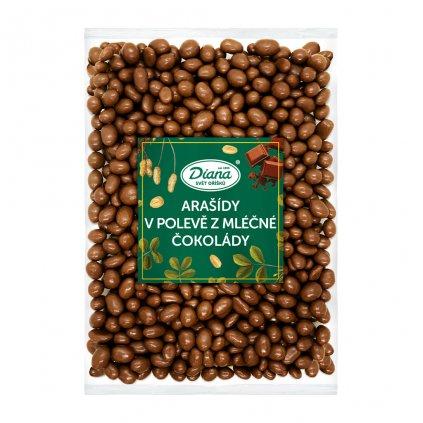 Arašídy v polevě z mléčné čokolády 1kg
