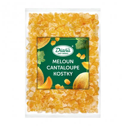 Meloun Cantaloupe kostky