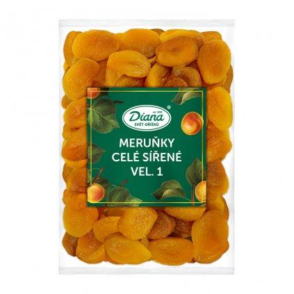 Meruňky celé sířené vel.1