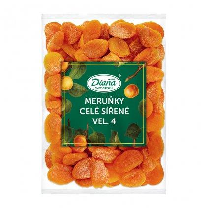 Meruňky celé sířené vel. 4 500g