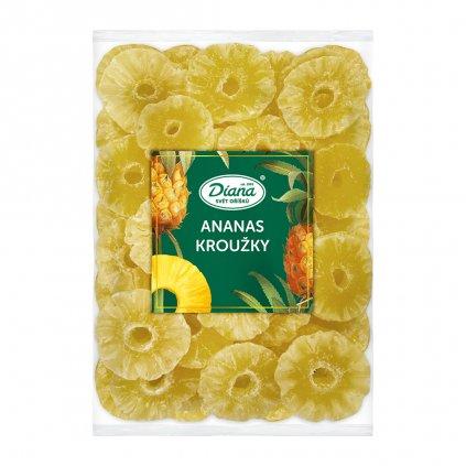 Ananas kroužky 1kg