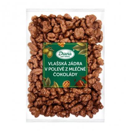 Vlašská jádra v polevě z mléčné čokolády