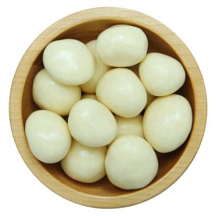 Jahody mrazem sušené v bílé čokoládě 1kg