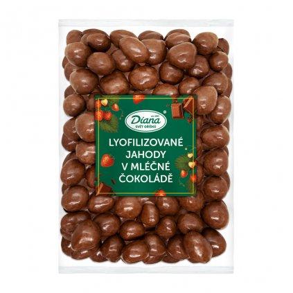 Jahody mrazem sušené v mléčné čokoládě 1kg